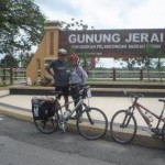 Around Malaysia in 37 days by cycling