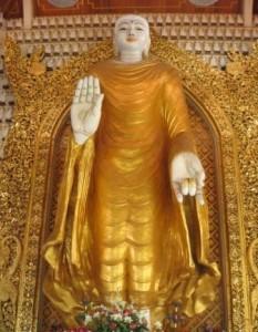 Tall Buddha Statue