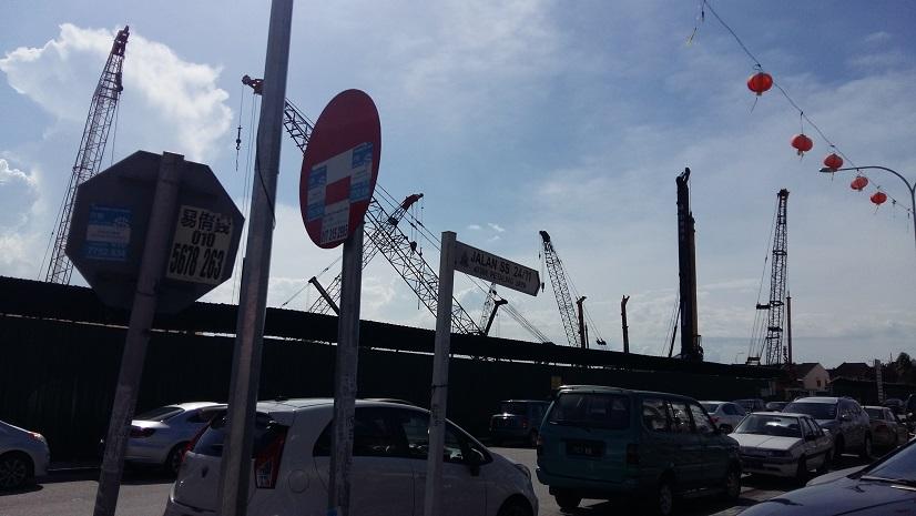 Taman Megah Food court