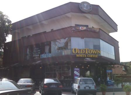 Old Town Kopitiam- place to rest and relax