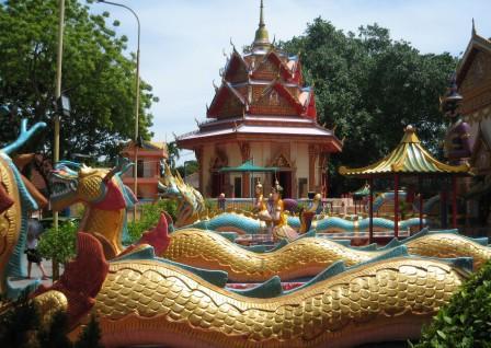 Thai Temple in Burmah Lane, Penang