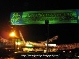 Northam Food Court Center in Penang
