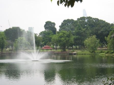 Taman Jaya Park- located opposite Amcorp Mall
