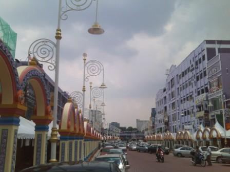 Little India in Brickfields Kuala Lumpur- Deepavali Celebrations
