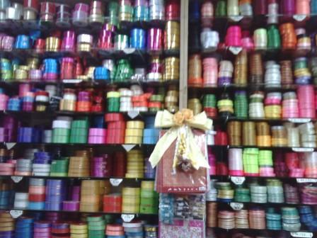 Satin Ribbon Roses sold in a Supply Store in Petaling Jaya