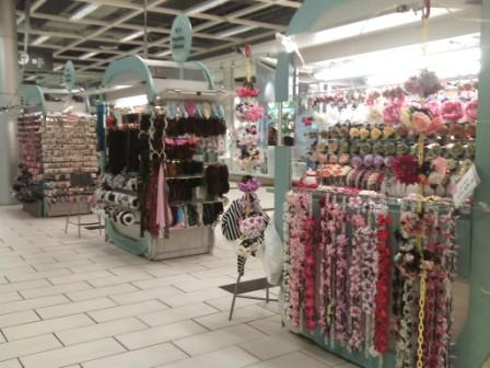 Craft and Hair Decorative Products Kiosks