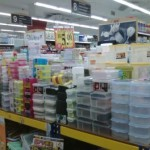 Containers to organise your items at RM5.57 each from Daiso