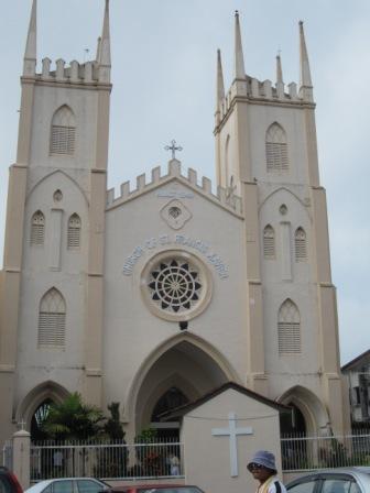 Clock Tower, Church & Victoria Fountain in Malacca
