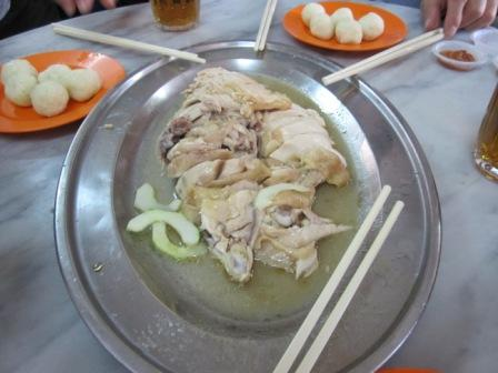 Famous Chicken Ball Chicken Rice in Malacca