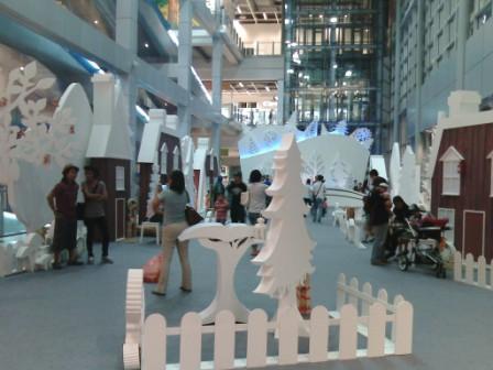 Ikano Power Station Christmas Display
