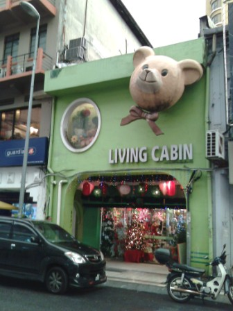 Crafts and decos at Petaling Street (Macy, Living Cabin & Nam Thong)