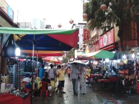Food galore at Petaling Street or Chinatown
