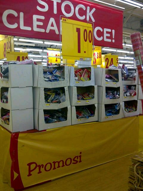 Craft kits for kids sold in AEON Big Subang Jaya