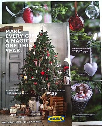 IKEAs Christmas Catalogue Is Out Real Trees