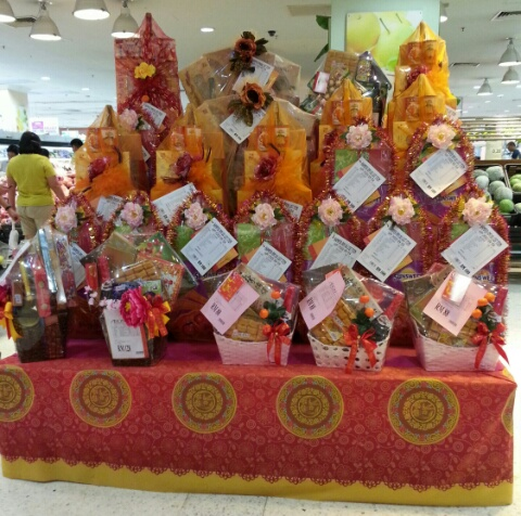 Chinese New Year gift hampers on sale