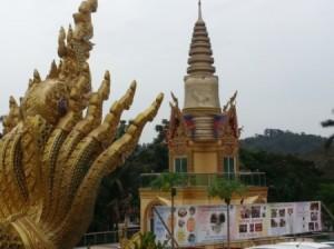 Songkran (Thai New Year) at Wat Chetawan