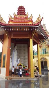 Kuan Yin Pavillion at Wat Chetawan