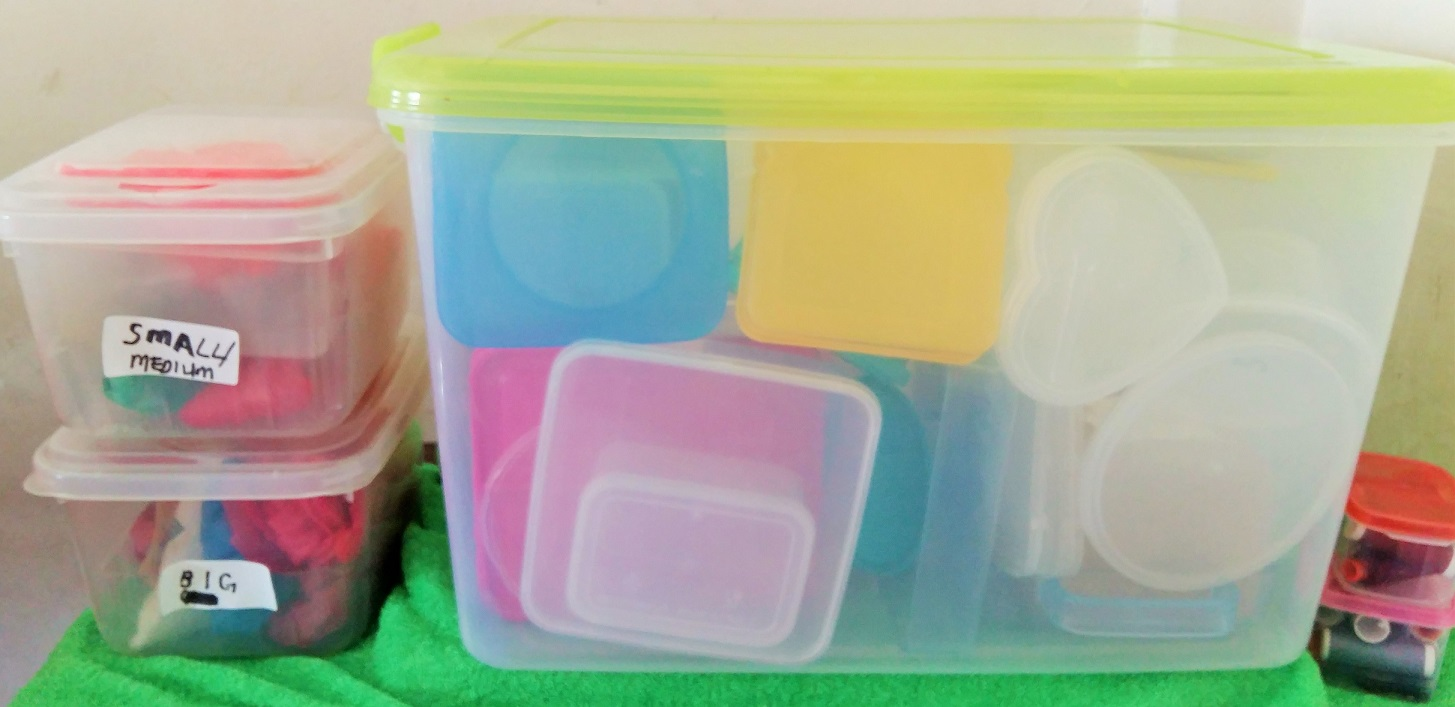 How to Organize Your Plastic Containers