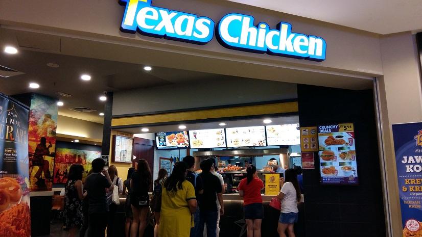 Texas Chicken Malaysia Menu & Price