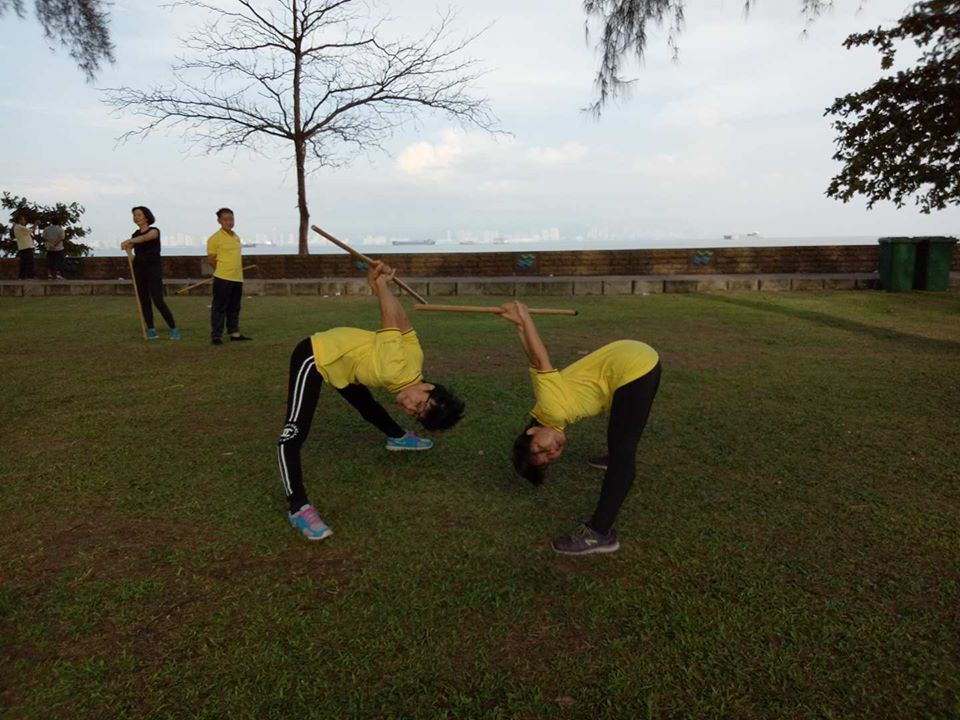 Cane Exercise at Chai Leng Park, Penang