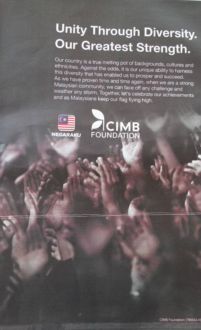 Merdeka message from CIMB