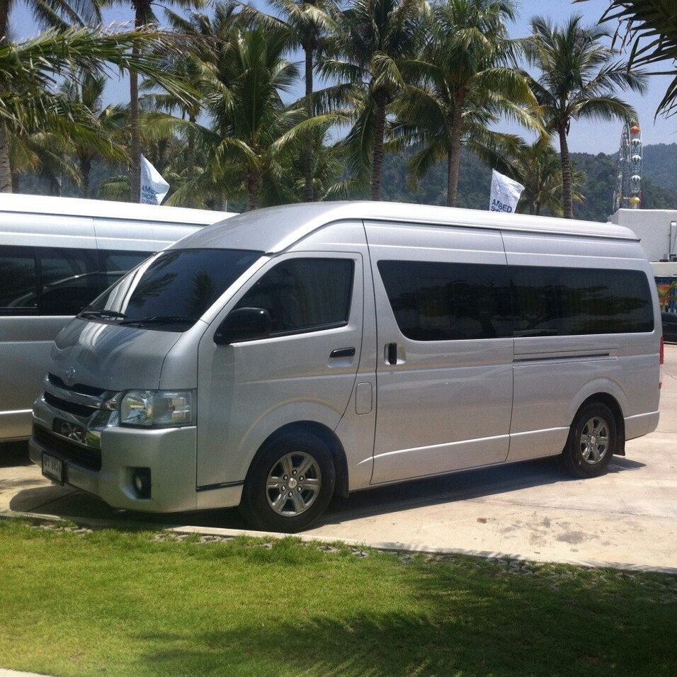 vans being used when you are travelling in Thailand