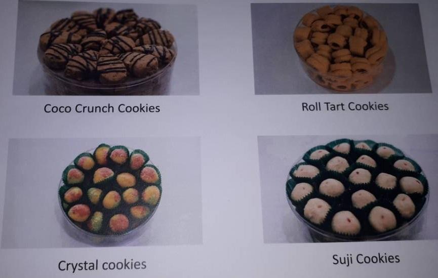 Kasturi Caters 100 percent eggless vegetarian cookies-biscuits