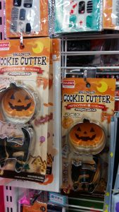 Halloween deco sold at Daiso
