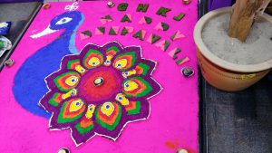 Deepavali rangoli