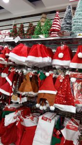 Christmas decoration sold at Daiso