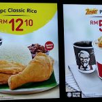 KFC breakfast menu