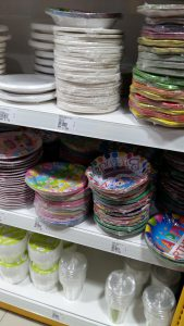 Mr DIY party plates