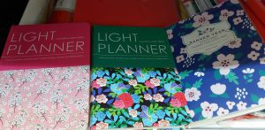 Planner notebooks sold at MrDIY