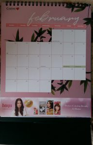Caring Pharmacy 2018 free desktop calendar