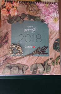 The Caring Pharmacy Free Calendar 2018 (purchase of min RM80)