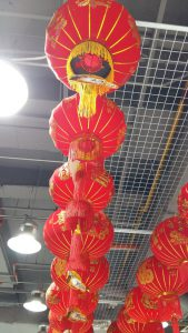 CNY laterns at MrDIY