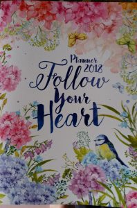 Follow Your Heart A4 planner