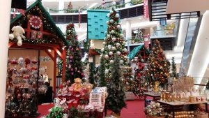 Paradigm Mall Christmas deco by Metrojaya
