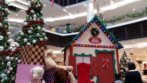 Paradigm Mall Kelana Jaya PJ Christmas decorations