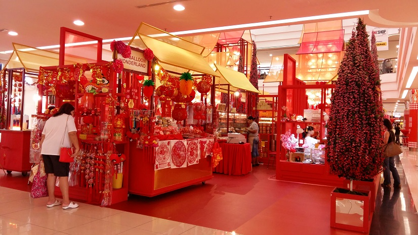 Shopping for Chinese New Year decorations/ baking supplies ...