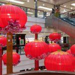 CNY decorations at One Utama