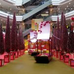 CNY decorations at One Utama