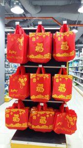 Mr DIY CNY deco shopping bag