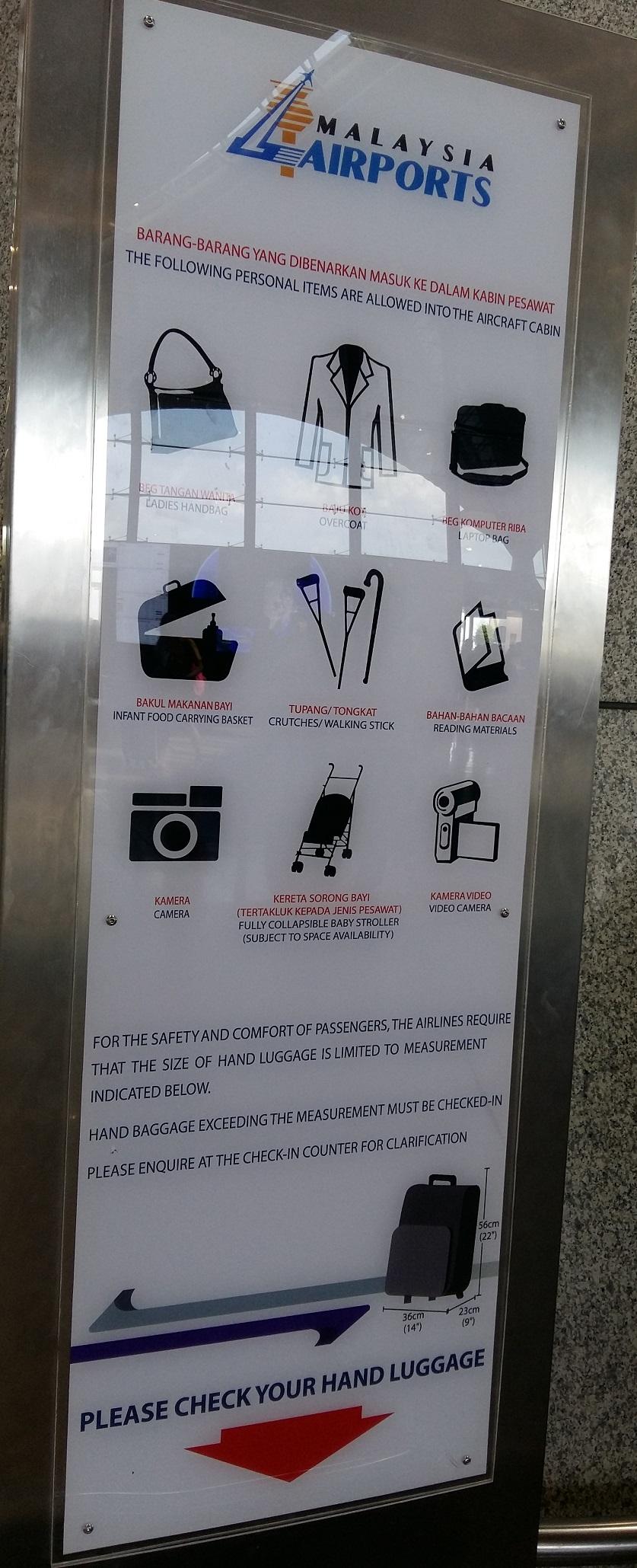 KLIA airport handcarry