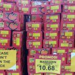 CNY mandarin oranges at hypermarket