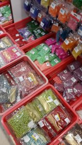 Craft and hantaran kahwin supplier in KL Sin Yin beads