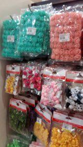 Craft and hantaran kahwin supplier in KL Sin Yin rose ribbons