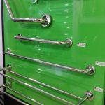 Bathroom railing ad hand bars for elderly