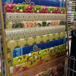 Wrapping paper batik and songket design