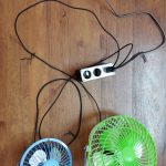 DIY car fan